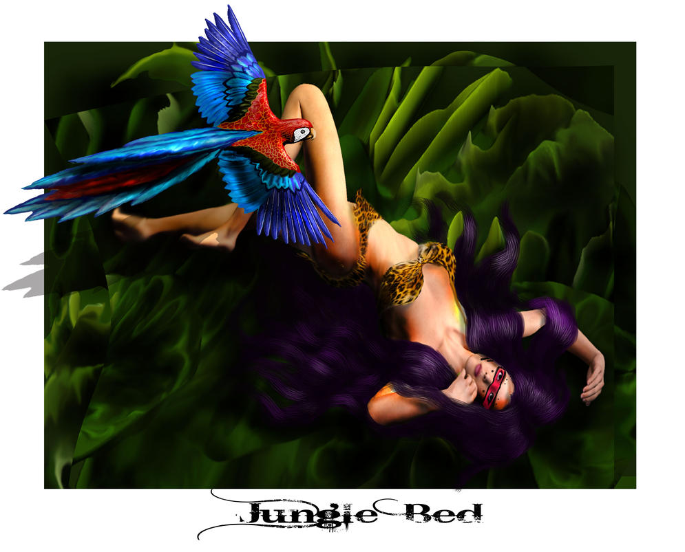 Jungle Bed by montalvo-mike