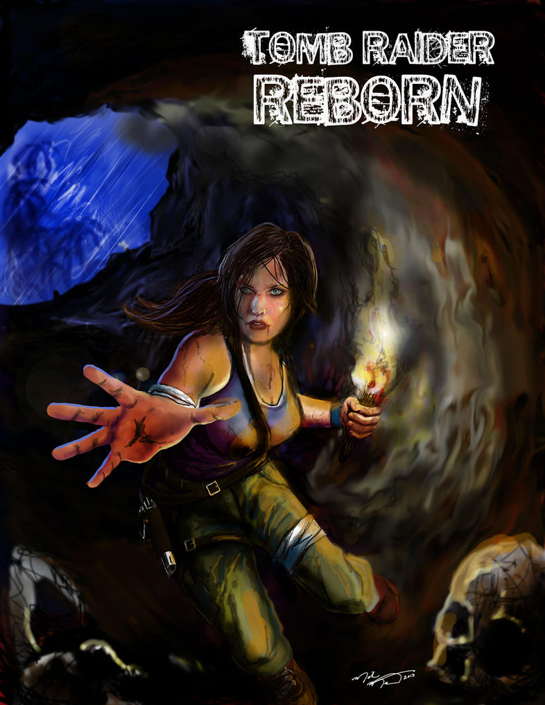 TOMB RAIDER REBORN by montalvo-mike
