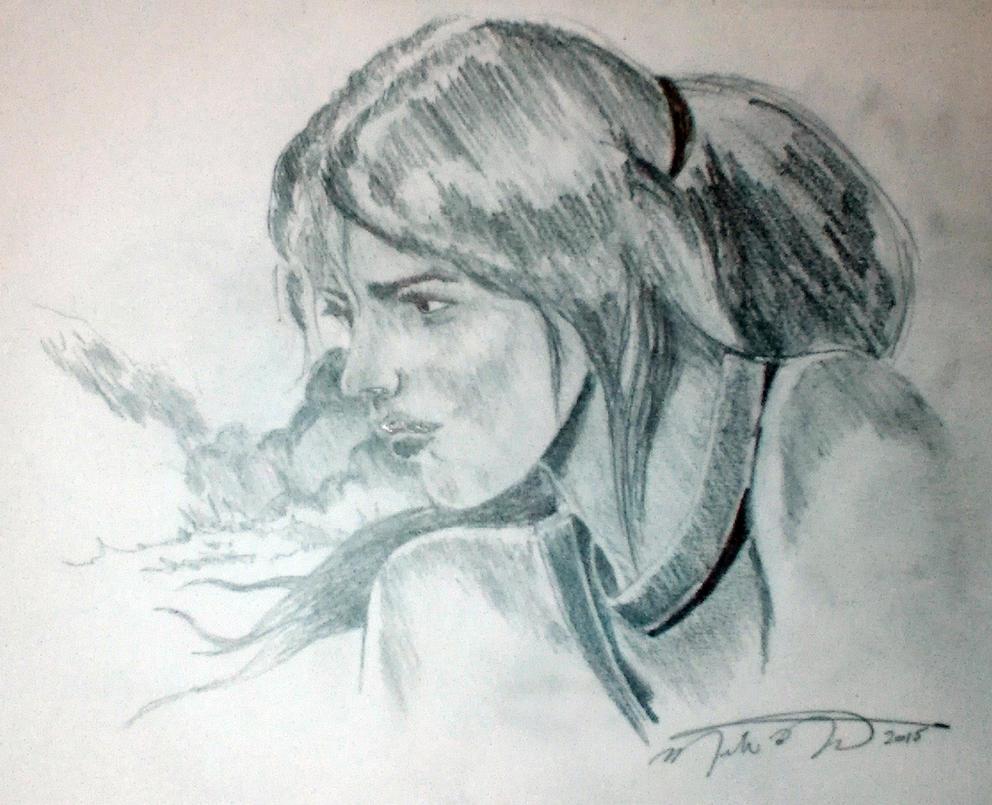 Lara Kroft by montalvo-mike