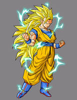 Goku - Super Saiyan 3 by dbzataricommunity