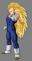 Vegeta - Super Saiyan 3 by dbzataricommunity