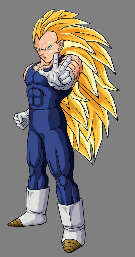 King Vegeta Super Saiyan 5 Vegeta - Super Saiyan 3 by