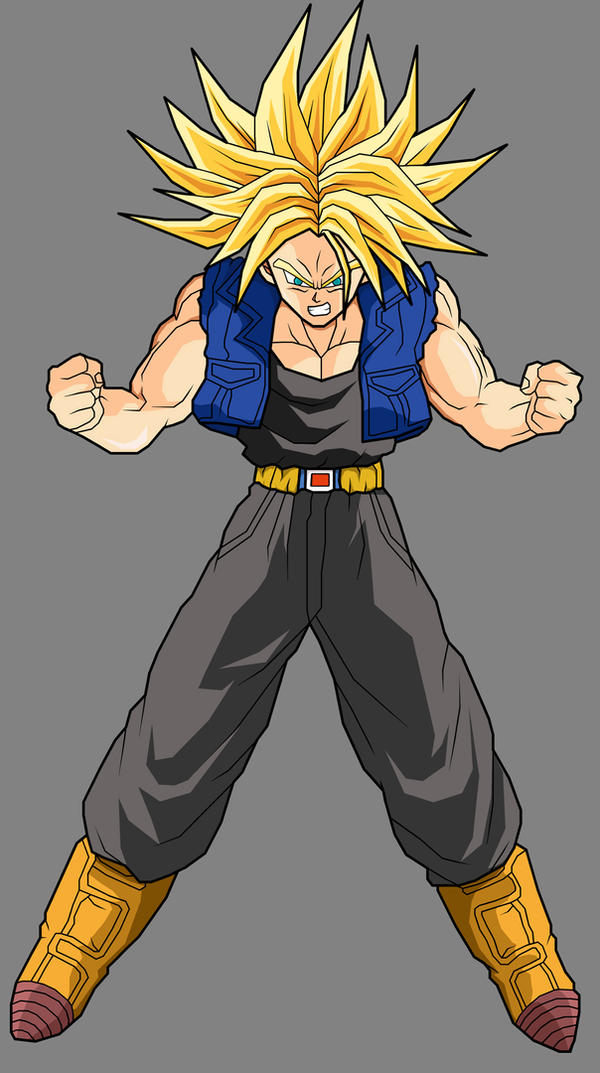 Trunks - Super Saiyan by ~dbzataricommunity on deviantART