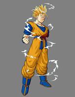 Future Gohan - Super Saiyan 2 by dbzataricommunity