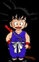 Kid Goku by dbzataricommunity