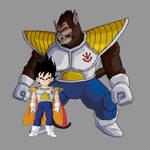 Prince Vegeta - Base + Oozaru