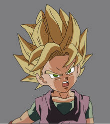 Goku Jr - Super Saiyan 2