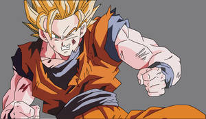 SS2 Goku - Battle Damaged by dbzataricommunity