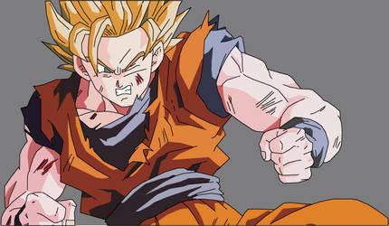 SS2 Goku - Battle Damaged