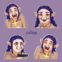 Kaya Sticker Pack by Cairye