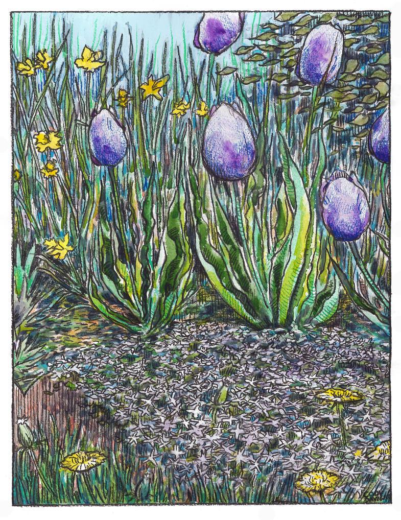 Spring Flowers by hertubise