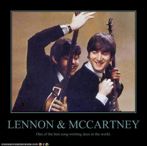 Lennon and McCartney Caption by WilburRobinsonsGirl