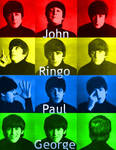 The Beatles Color Manip. 2