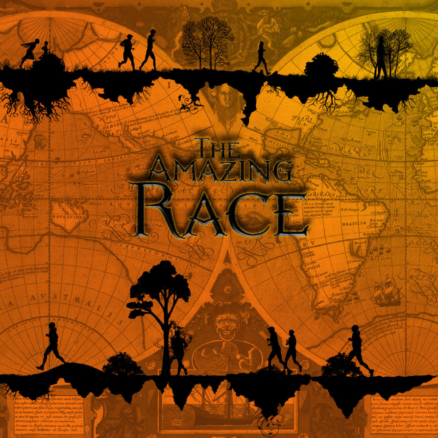 amazing race logo by wilburrobinsonsgirl on deviantart