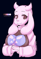Toriel Limited Palette by the-chinad011-house