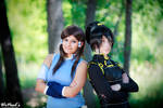 Korra and Toph