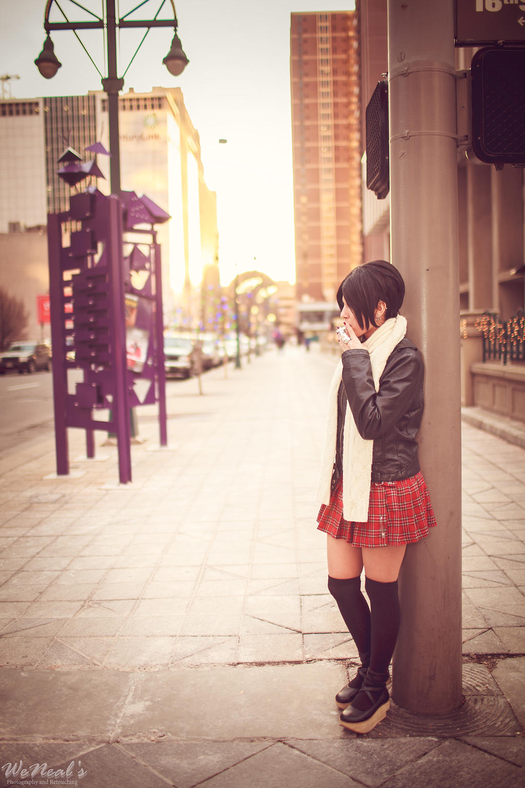 NANA on the corner by Torremitsu