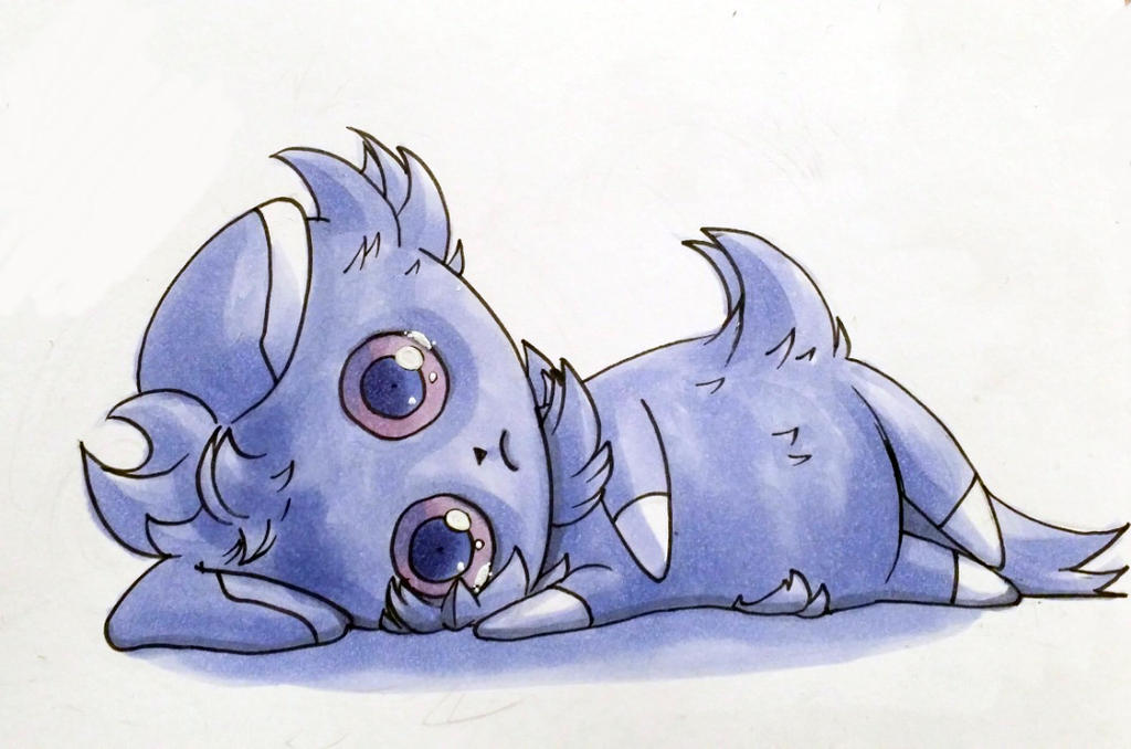 Espurr by Etherpendant