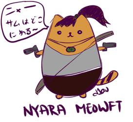 TRxPusheen: Nyara Meowft