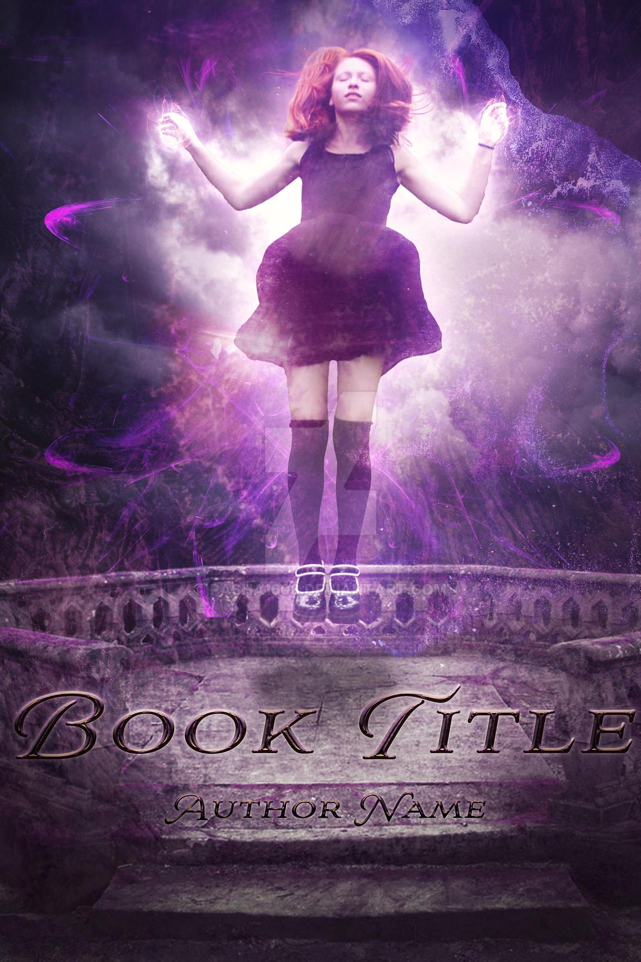 Premade Book Cover 7