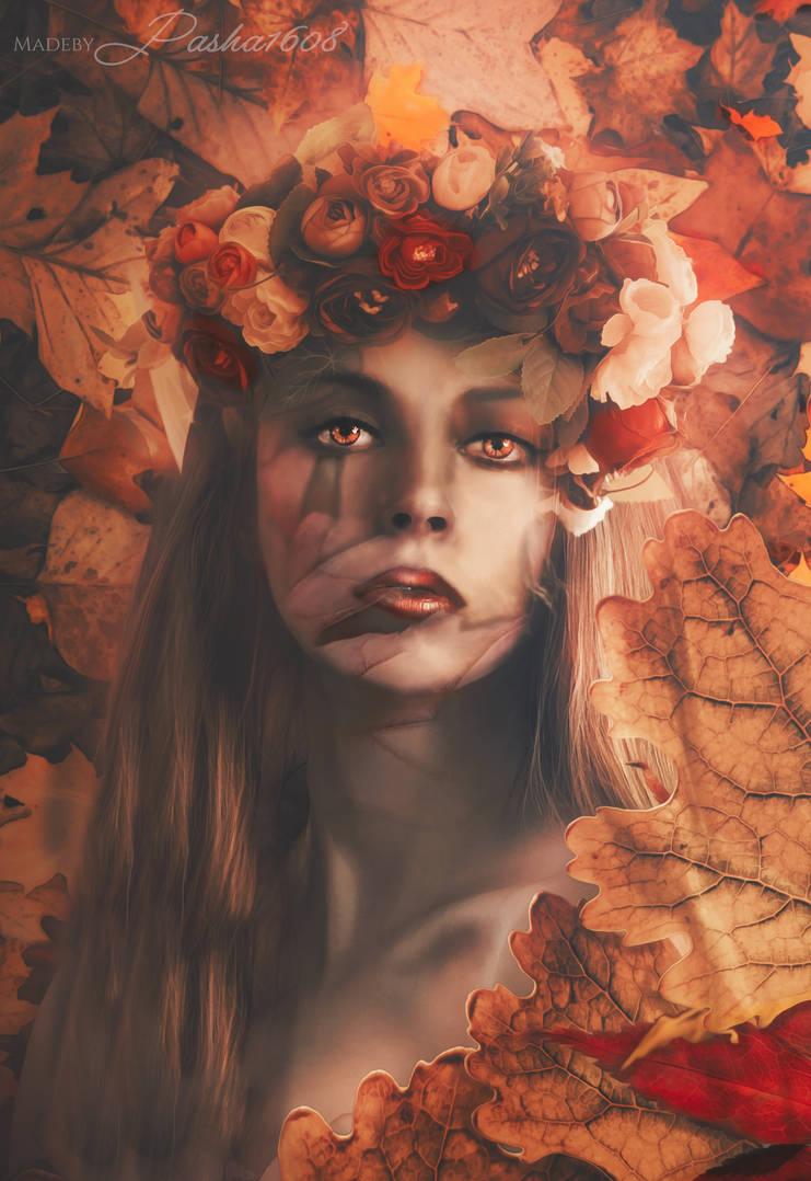 Fall Fantasy goddess