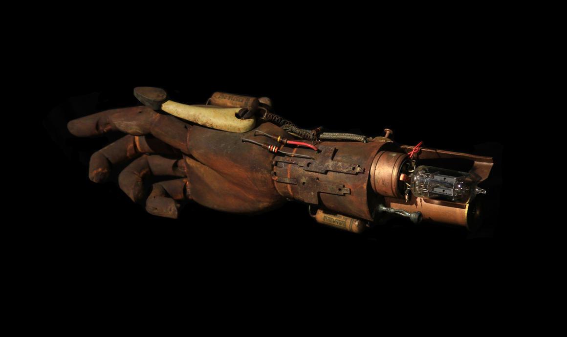 Hand of Prometheus by RobertDampier