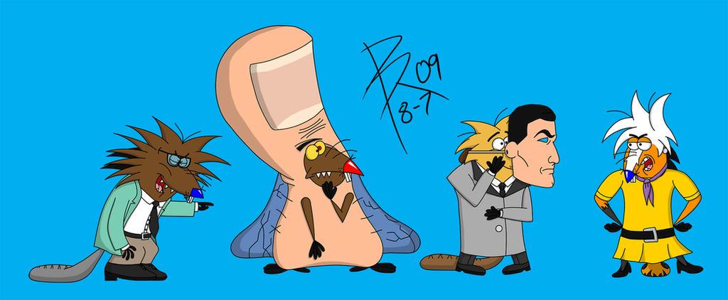 Angry Beavers Halloween by Rally-Fox