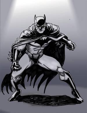 BATMAN  Con Sketch