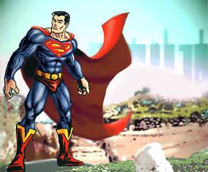 superman by GinoDrone