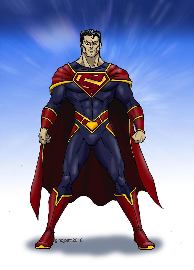 Superman Redesign 3 by GinoDrone