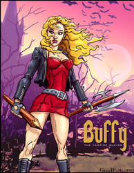 BUFFY VERSION 2 by GinoDrone