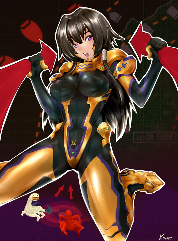 Fanart Muv Luv Alternative Total Eclipse By Kinary On