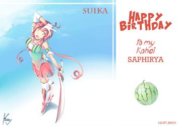 B-Day Gift Saphirya