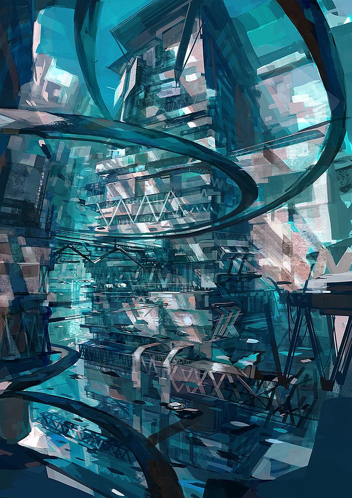 Arc city by dentyou
