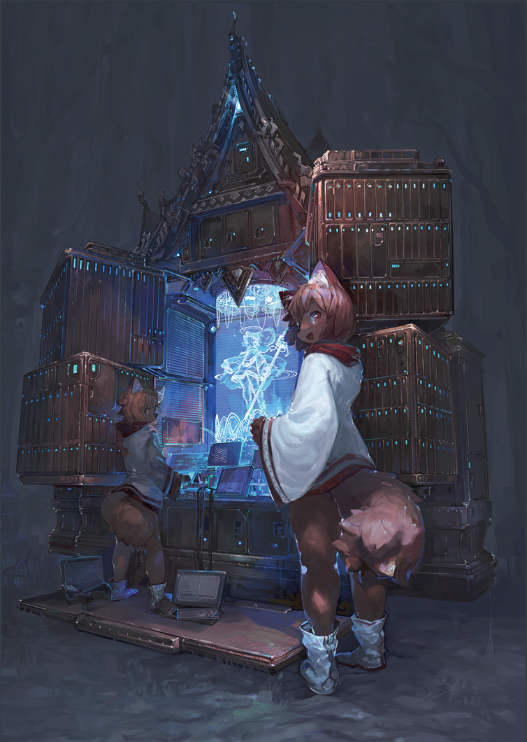 Goddess by dentyou
