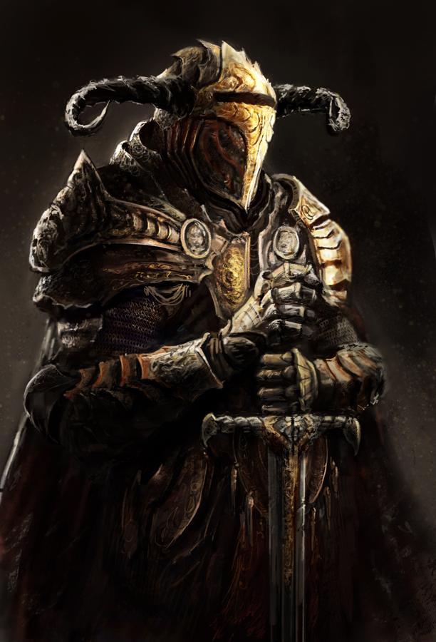 Knight by LoopyWanderer