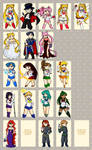 Sailor Moon Chibis