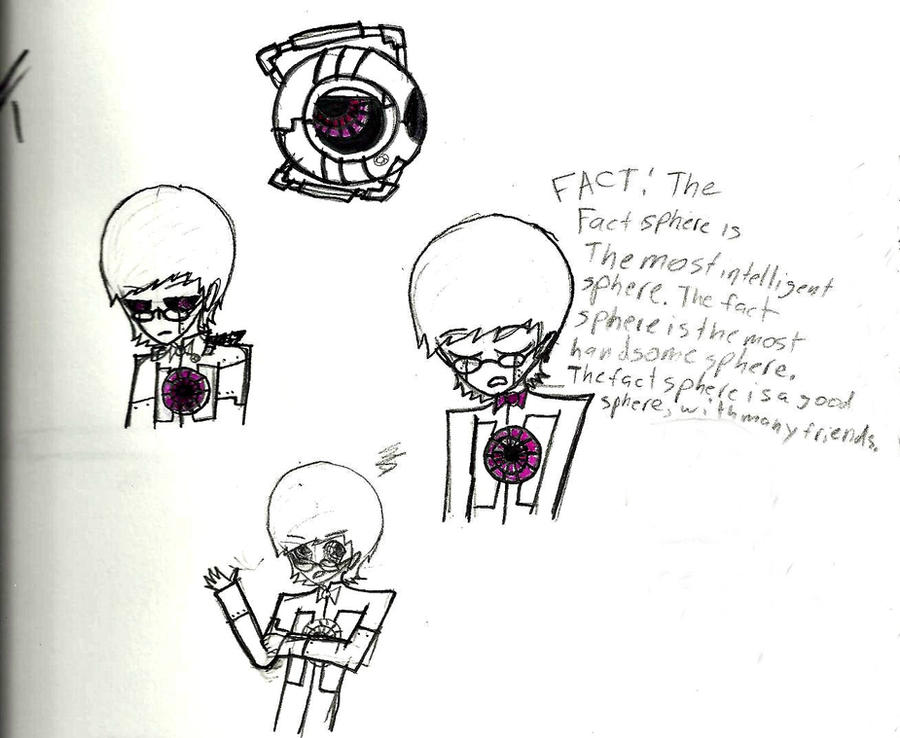 Fact core sketches by mirkwoodprincess123