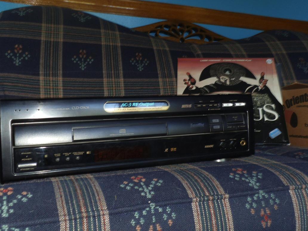 Laserdisc Player by DeadMatter2012