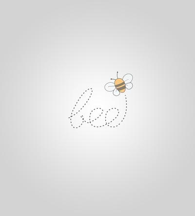 Cute Bee Logo Bee Logo by Fatimahart