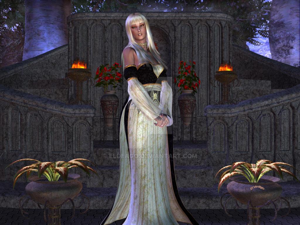 Elegance by Moonlight by Eldeago