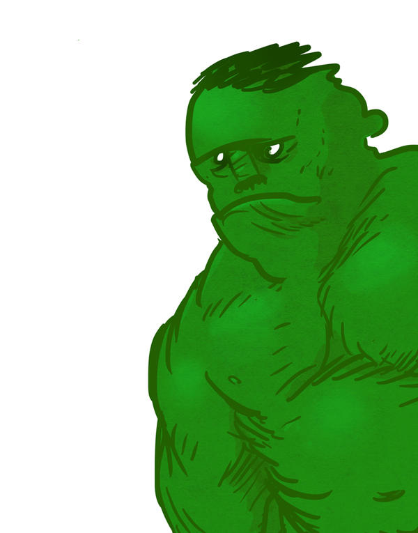 HULK by crazyfoxmachine