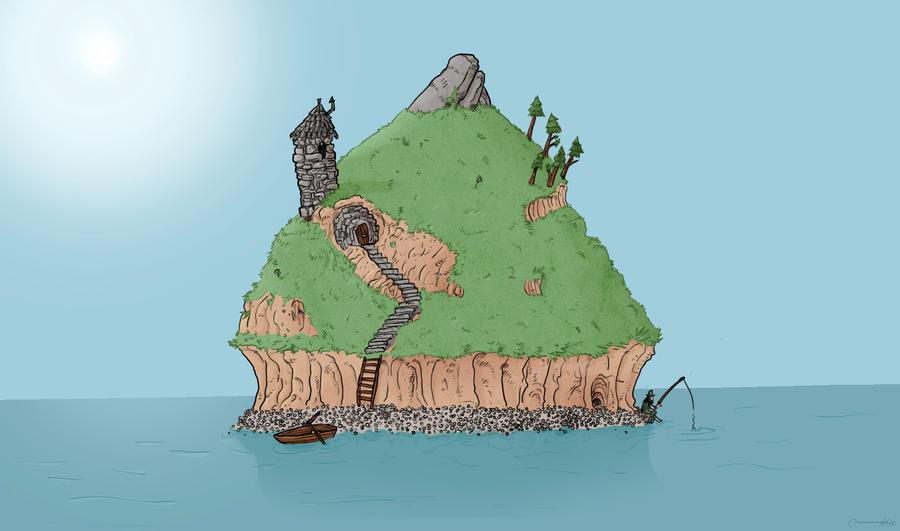The Island by crazyfoxmachine