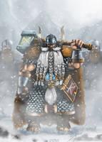 Dwarf Lord by PhearTheHam