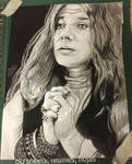 Janis Joplin by KeitimariArt