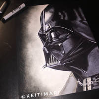 Darth Vader by KeitimariArt