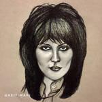 Joan Jett by KeitimariArt