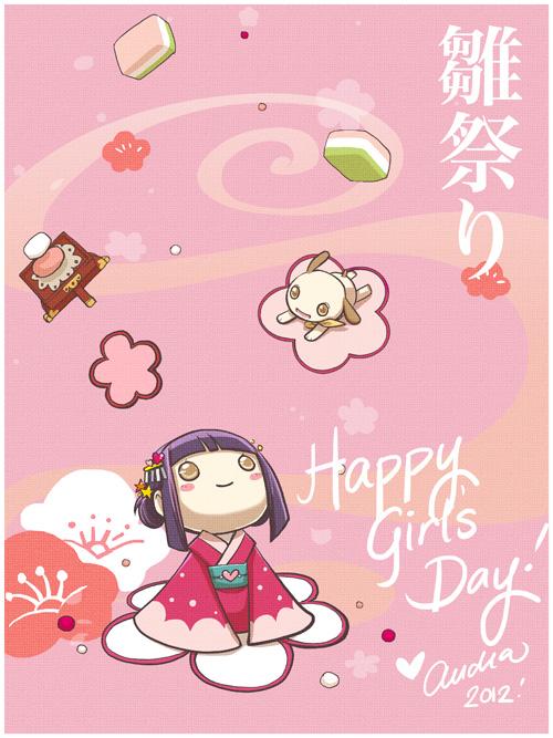 Happy Hinamatsuri 2012 by nemu-nemu