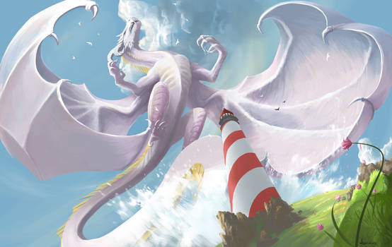 Lighthouse Dragon