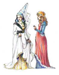 Medieval costume by Keigankun